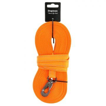 Dogman Sporline Iris vevd Oransje 15m