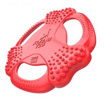 GiGwi Flying Tug frisbee Rød L 24cm