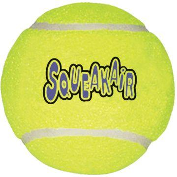 KONG Leksak SqueakAir TennisBall Gul L 7,5cm