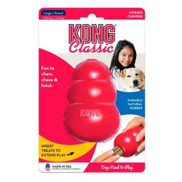 KONG Leke Kong Classic Rød L 10cm