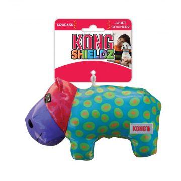 KONG Leke Shieldz Hippo Flerfärgad M 17cm