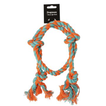 Dogman Leke Tau-ring Flerfarget M 30cm