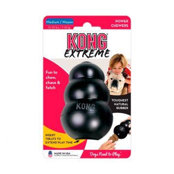 KONG Leksak Kong Extreme Svart M 9cm