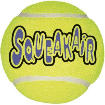 KONG Leke SqueakAir Balls 3p Gul M 6cm