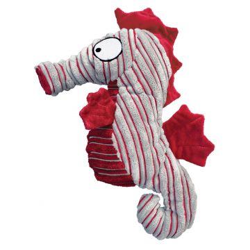 KONG Leke CuteSeas Seahorse Rød S 18cm