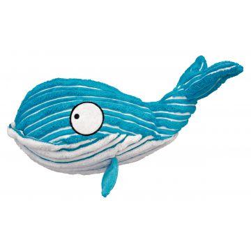 KONG Leke CuteSeas Blue Whale Blå S 18cm