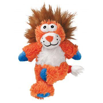 KONG Leksak Knots Lion Orange M/L 34cm