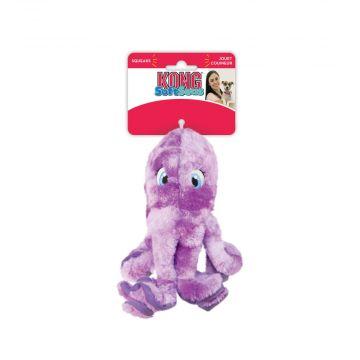 KONG Leksak SoftSeas Octopus Lila S 20cm