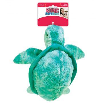 KONG Leke SoftSeas Turtle Turkis L 35cm