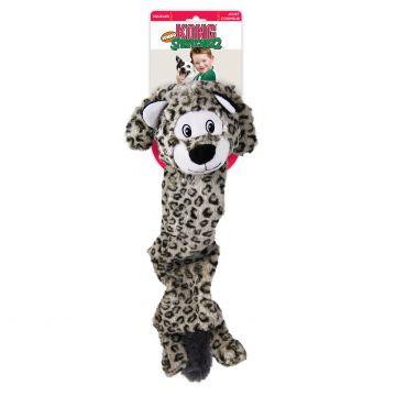 KONG Leke Stretchezz SnowLeopard Grå XL 60cm