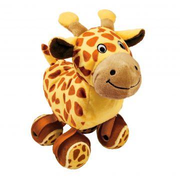 KONG Leksak TenniShoes Giraffe Brun L 24cm