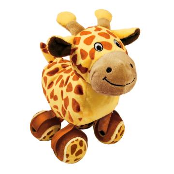 KONG Leksak TenniShoes Giraffe Brun S 15cm
