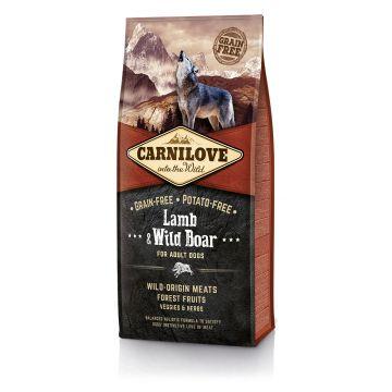 Carnilove Lamb&Wild Boar 12Kg