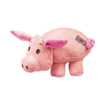 KONG Leksak Phatz Pig Rosa S 12cm