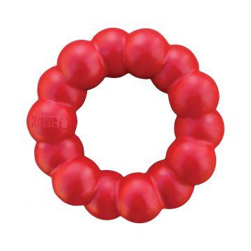 KONG Leksak Ring Classic Röd S/M 9cm