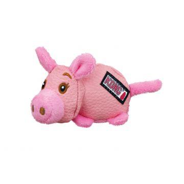 KONG Leksak Phatz Pig Rosa XS 11cm