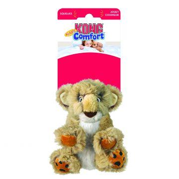KONG Leksak Comfort Kiddos Lion Beige L 23cm