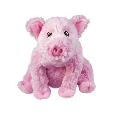 KONG Leksak Comfort Kiddos Pig Rosa S 16cm