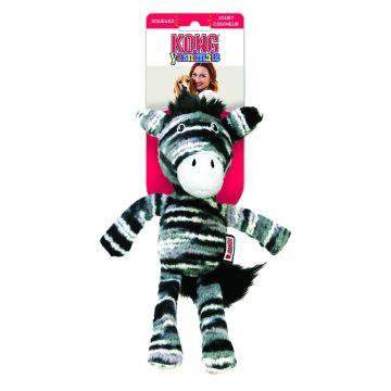 KONG Leksak Yarnimals Zebra Svart S/M 19cm