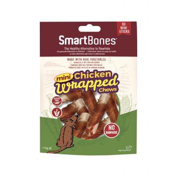 SmartBones Chicken Wrapped MiniSticks 9p S 122g