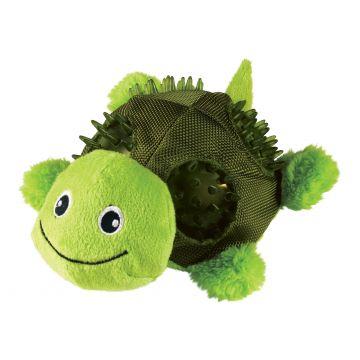 KONG Leksak Shells Turtle Grön S 11cm