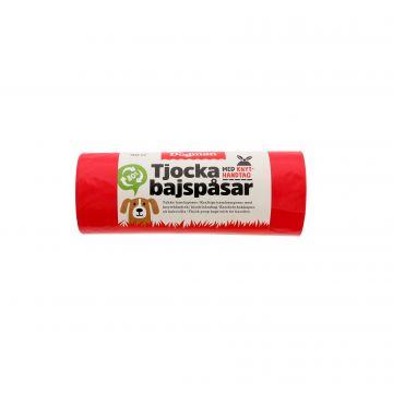 Dogman Hundeposer med håndtak 50p Rød