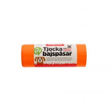 Dogman Hundeposer med håndtak 50p Oransje