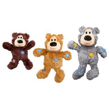 KONG Leksak Wild Knots Bear Mix S/M 19cm
