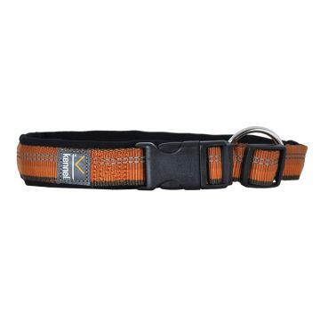 Kennel Equip Dog Collar Adjustable Active Orange L 50-60cm