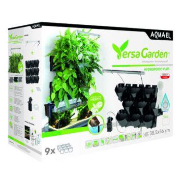 Aquael Versa Garden Hydroponic Plus Svart 56cm