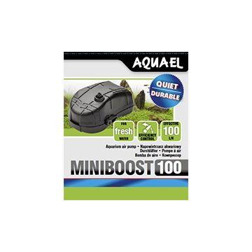 Aquael Luftpump Miniboost Svart 100l/h