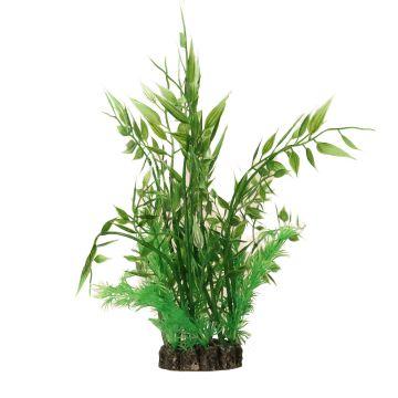 Aquael Dekorväxt Grønn L 20cm