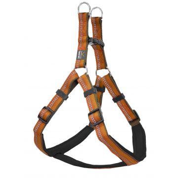 Kennel Equip Dog Harness Step in Active Orange M