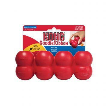 KONG Leke Goodie Ribbon Rød M 18cm
