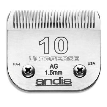 Andis Skär UltraEdge nr 10 Metall Nr 10, 1,5mm