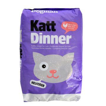 Dogman Dinner Kattfor 10kg