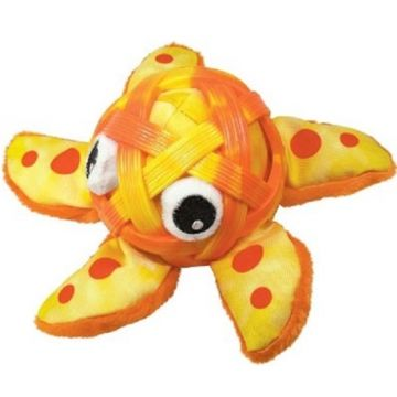 KONG Leksak SeaShells Starfish Gul S/M 17cm