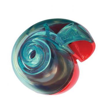 KONG Aktiviseringsleke Reward Shell Blå S 10cm