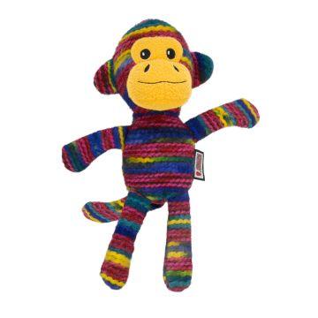 KONG Leke Yarnimals Monkey Gul M/L 27cm