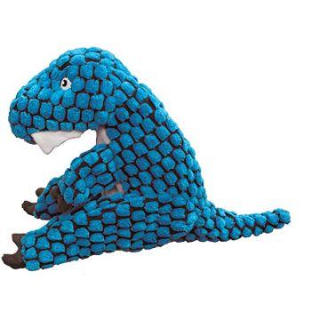 KONG Leksak Dynos T-Rex Blå XS