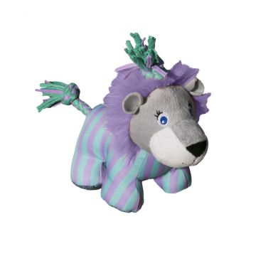 KONG Leke Knots Carnival Lion Lilla S/M