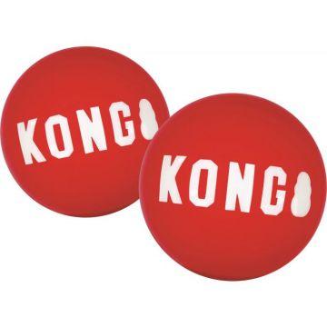 KONG Leke Signature Balls 2p Rød M 6,5cm