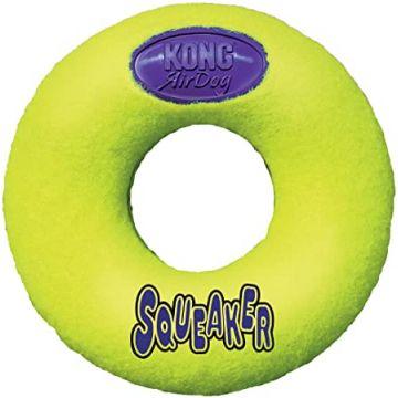 KONG Leksak AirDog Donut Gul M 13cm