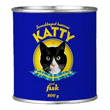 Katty Våtfoder med fisk 800g