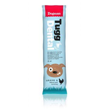 Dogman Tygg Dental med kylling 2p S 12,5cm