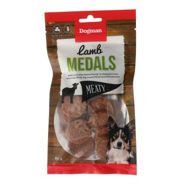 Dogman Lamb medals