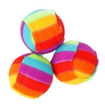 Dogman Leke Regnbueball Flerfarget 4cm