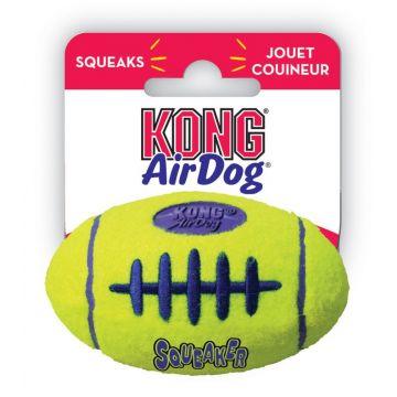 KONG Leke AirDog Football Gul S 8,5cm