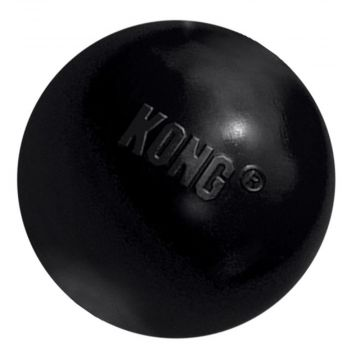 KONG Leksak Ball Extreme Svart M 6,5cm