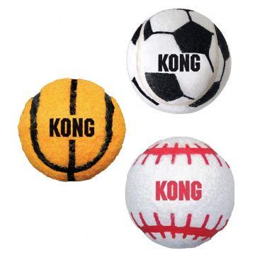KONG Leke Sport Balls 3p Flerfärgad XS 4cm